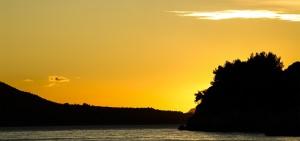 dubrovnik sunset adriatic images